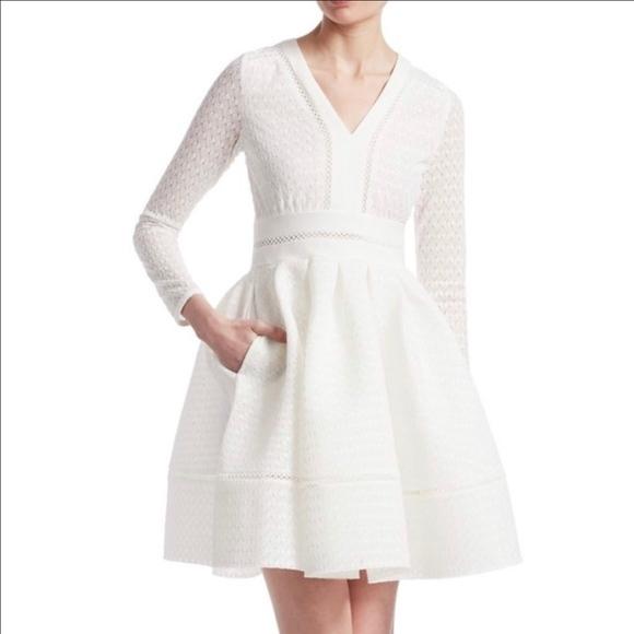 233814470416 Maje Dresses | Euc Rossignol Lace Dress Bridal Shower | Poshmark